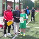 Turniej Piłki Nożnej Dziewcząt o Puchar Prezesa Zarządu Powiatowego Związku OSP - 22-06-14 100_3093