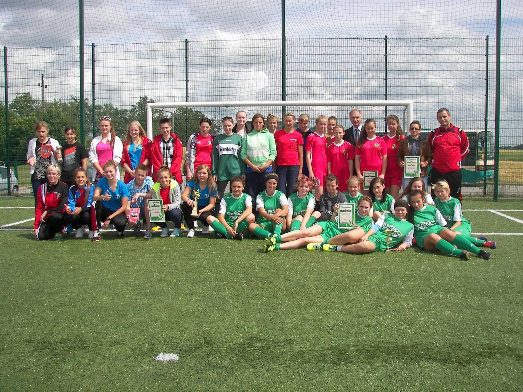 Turniej Piłki Nożnej Dziewcząt o Puchar Prezesa Zarządu Powiatowego Związku OSP – 22 czerwca 2014