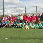 Turniej Piłki Nożnej Dziewcząt o Puchar Prezesa Zarządu Powiatowego Związku OSP - 22-06-14 100_3097